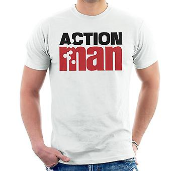 Action Man Logo Bullets Men's T-Shirt