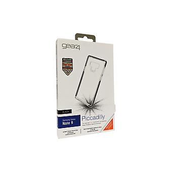GEAR4 D3O Piccadilly Case for Samsung Galaxy Note 9 - Black/Clear