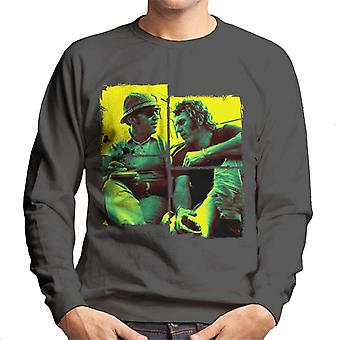 Motorsport Images Steve McQueen Broken Foot Men's Sweatshirt