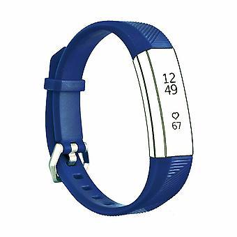 """Bracelet de bande de silicone de sangle de remplacement pour fitbit ace kids / Alta / Alta HR[Small Fits Wrist 5.5"""" - 6.9"""",Blue]"""
