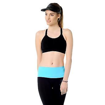 Jerf naisten musta saumaton urheilu rintaliivit