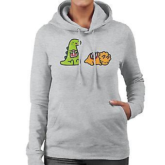 Dino Jambre Frauen's Kapuzen Sweatshirt
