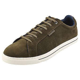 Ted Baker Eppand Mens Fashion Trainers in Khaki