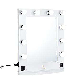 Hollywood Led Vanity Mirror Tabletop Wall Mounted Mirror