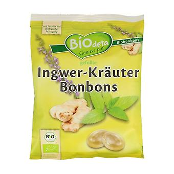 Biodeta Ginger and Herb Candies 75 g
