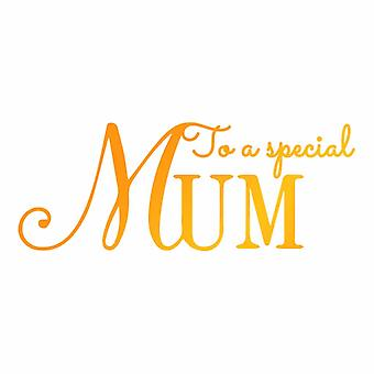 Ultimate Crafts Hotfoil Stamp Special Mum (3.4 x 1.3in) (ULT158107)