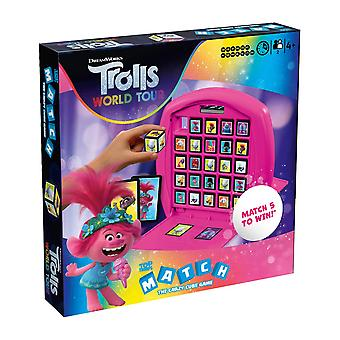 Trolls World Tour Top Trumps Match - The Crazy Cube Game