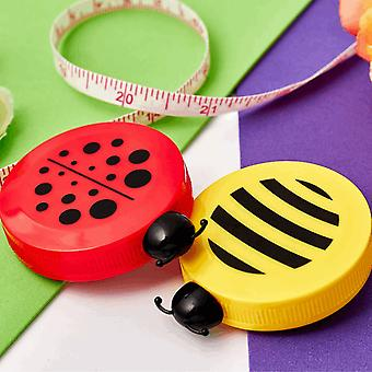 Retractable 150cm Tape Measure - Bee and Ladybird Design