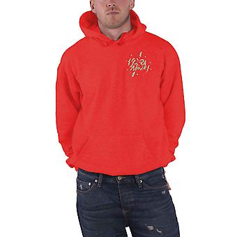 Paramore Hoodie Marked Up Band Logo new Official Mens Red Pullover