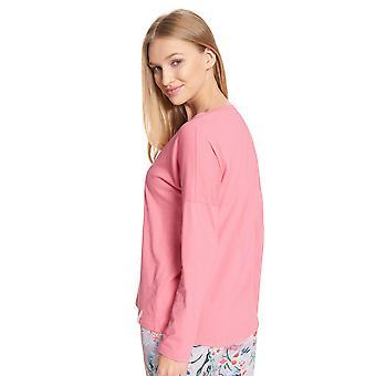Rösch être heureux! 1202106-16529 Femmes-apos;s Haut de pyjama framboise