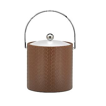San Remo Pinecone 3 Qt Ice Bucket W/ Bale Handle & Lucite Cover