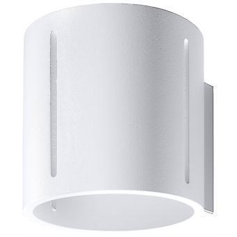 1 Luz Flush pared blanca, G9