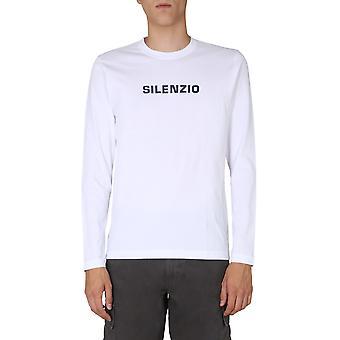 Aspesi Ay50a33501072 Men''s White Cotton T-shirt