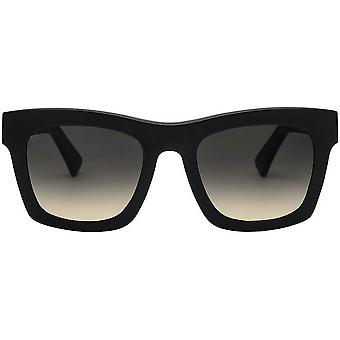 Electric California Crasher Sunglasses - Matte Black/Black Gradient