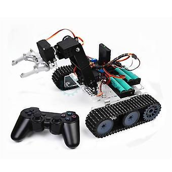 Snar20 Control Robot Arduino Acryl Tank Robotic Arm Intelligent Assembly Kit (js388)