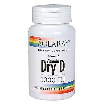 Solaray Dry D, 1.000 I.E., 60 Kapseln