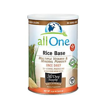 All One Multiple Vitamin and Mineral Powder, Rice Base, 15,9 OZ (30 Jours d'approvisionnement)