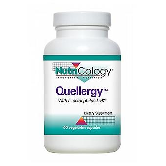 Nutricology/ Allergy Research Group Quellery, 60 Veg Caps