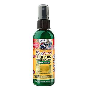 BugBand Tick Plus Insect Repelent Spray, 3 Oz
