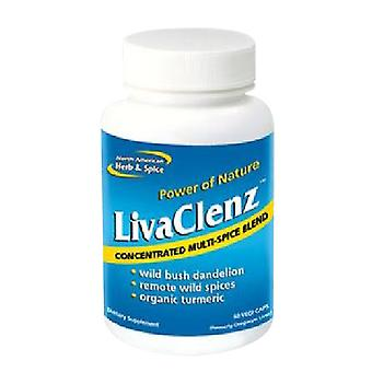 Erva norte-americana e spice Liva Clenz, EA 1/60 CAP