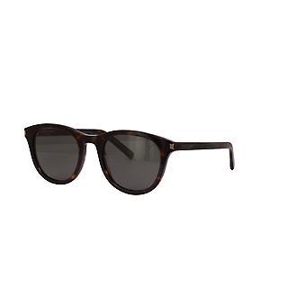 Saint Laurent SL 401 002 Havana/Grey Sunglasses
