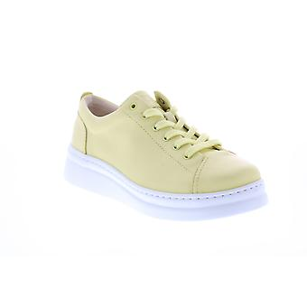 Camper Runner Up Womens gult läder Euro Sneakers skor