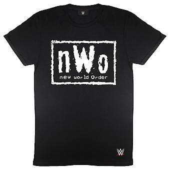 WWE NWO كلاسيك شعار الرجال & apos;ق تي شيرت | البضائع الرسمية