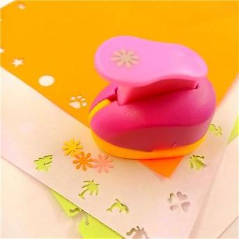 Free Ship Flower Paper Cut Eva Foam, Puncher Scrapbooking Labor-saving For Kid