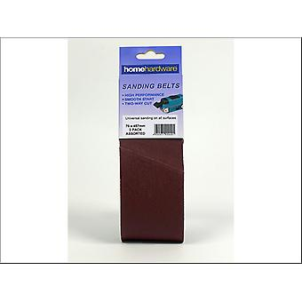 Home DIY (Paint Brushes) Sanding Belt 457 x 76 Assorted x 3 009491