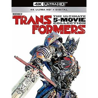 Transformers: Ultimate Five Movie Collection [Blu-ray] USA import