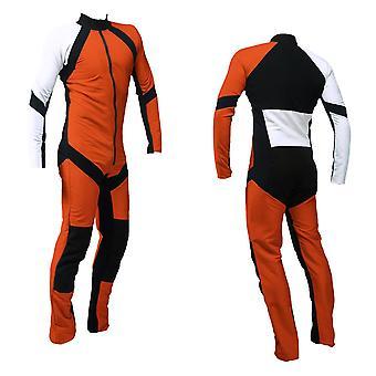 Freefly skydiving suit orange-white se-09