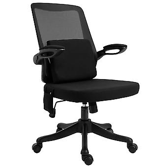 Vinsetto Office Chair 2-Point Massage Executive Ergonomic USB Power Mesh Design 360° Swivel with Lumbar Support, Black