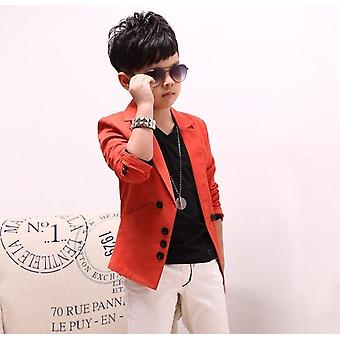 Kids Casual Suits Jas, Koreaanse stijl Blazer Wedding Blazers