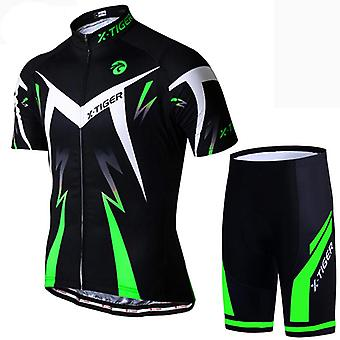 X-tiger Pro Cycling Jersey Set, Summer Wear Mountain Bike Clothes/ Cycling Suit