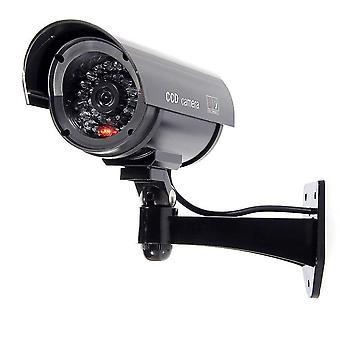 Bw 1100b venkovní vnitřní falešné figuríny imitace cctv bezpečnostní kamery s blikající blikající světlo bulle