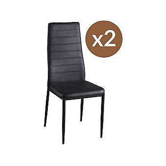 """Lote de 2 sillas """"Lina"""""""