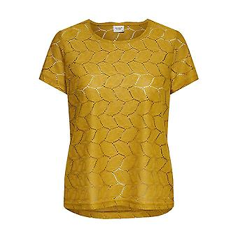 JDY Womens T-Shirt Lace Pattern Short Sleeve Top JDYTAG Basic Casual by ONLY