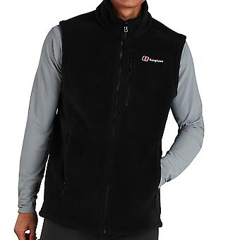 Berghaus Prism Polartec Interactive Mens Outdoor Fleece Vest Gilet Black