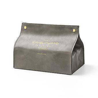 Foldable Napkin Holder Paper Storage Box Bonne décoration de table apparence