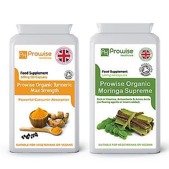 Organic Turmeric + Moringa Supreme
