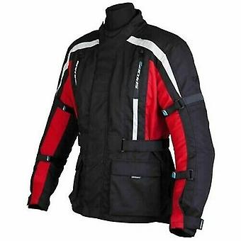 Spada Core Men's Motorcycle Jacket Black Waterproof Breathable CE Armour Winter
