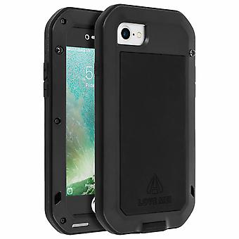 Love Mei powerful shockproof case for iPhone 7 / iPhone 8, screen protector