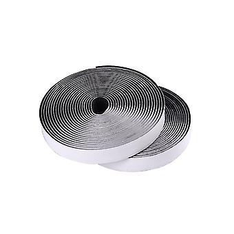 1m tape krog og loop selvklæbende tape 20 mm bred | Sort | Diy kreative projekter syning