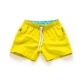 מכנסיים קצרים חוף קיץ גברים מכנסי שחייה ספורט פנאי ריצה מכנסיים קצרים