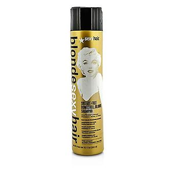 Sexy Hair Concepts Blonde Sexy Hair Sulfate-Free Bombshell Blonde Shampoo (Daily Color Preserving) 300ml/10.1oz