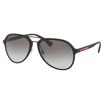 Prada SPS05R Rubber Black Degraded Grey