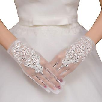 Glamour Bride Gloves Lace Short Paragraph Wedding Dresses Accessories (wedding