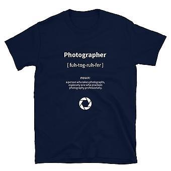 Photographe - T-shirt à manches courtes, unisexe