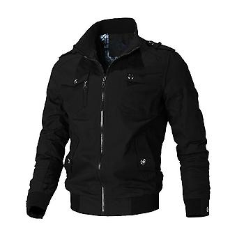 Men Spring-autumn Army Military Outerwear Windbreaker Casual Jacket