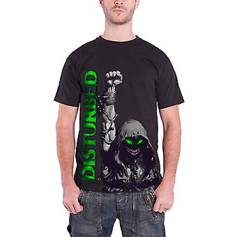 Disturbed Up Your Fist Band Logo Official Mens New Black T Shirt